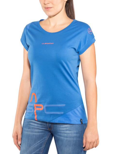 La Sportiva W's Shortener T-Shirt Marine Blue